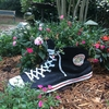 Large High Top Sneaker Planter - Black