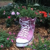 Large High Top Sneaker Planter - Pink