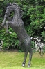 Large Jumping Stallion Horse Decor