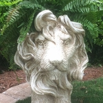 Large Lion Planter - Antique Finish