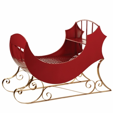 Large Luster Sleigh - Click to enlarge