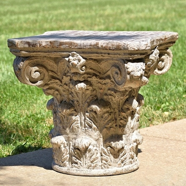 Large Magnesium Pedestal - Click to enlarge