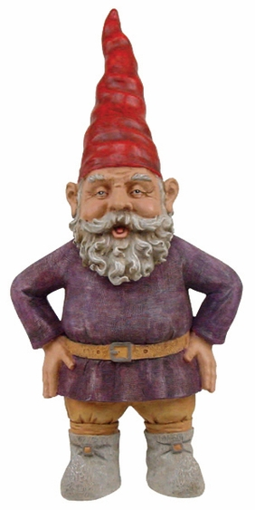 Large Merlin Garden Gnome - Click to enlarge