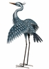 Large Metallic Heron - Wings Out