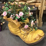 Large Old Boot Planter