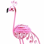 Large Pink Flamingo Statue