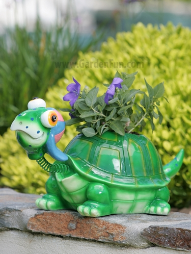 Large Turtle Phatzo Planter - Click to enlarge