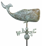 Large Whale Weathervane