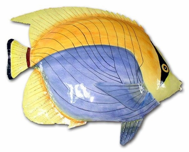 Large Yellow Back Bandit Fish Wall Art - Click to enlarge