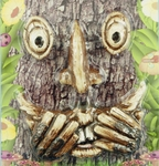 Laughing / Scared Tree Face