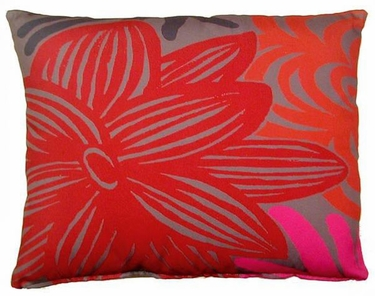 Lava Flower Outdoor Pillow - Click to enlarge