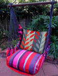Lava Stripe Hammock Chairs