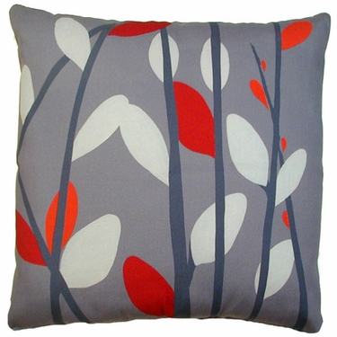 Lava Willows Outdoor Pillow - Click to enlarge