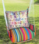 Le Jardin Alphabet Hammock Chair Swing Set