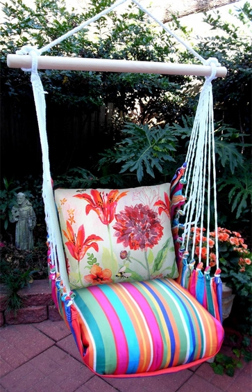 Le Jardin Aviary Bumblebee Hammock Chair Swing Set - Click to enlarge