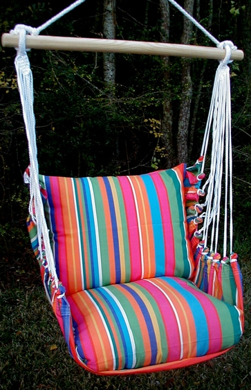 Le Jardin Classic Hammock Chair Swing Set - Click to enlarge