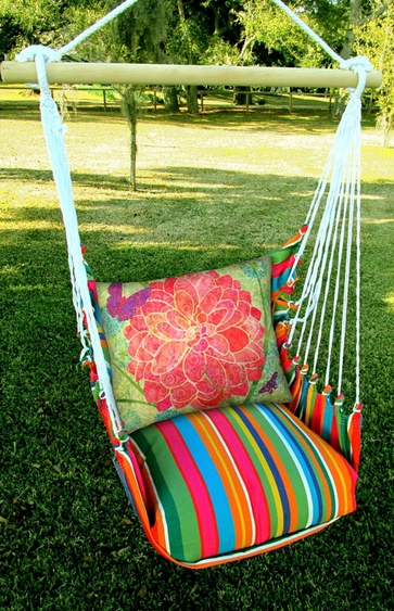 Le Jardin Colors of Nature Hammock Chair Swing Set - Click to enlarge