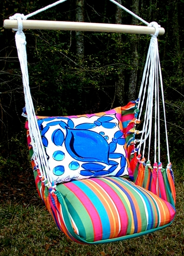 Le Jardin Crab Hammock Chair Swing Set - Click to enlarge