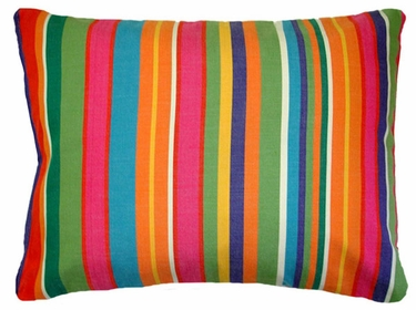 Le Jardin Stripe Outdoor Pillow - Click to enlarge