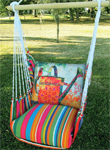 Le Jardin Watering Can Hammock Chair Swing Set