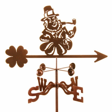 Leprechaun Weathervane - Click to enlarge