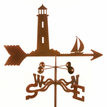 Lighthouse Weathervane - Click to enlarge