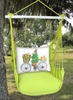 Lime Yellow Spring Bunny Hammock Chair Swing Set