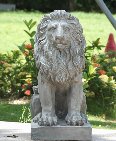 Lion Sitting Statue - Click to enlarge