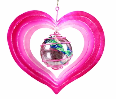 Love Heart Shape Glow Catcher - Click to enlarge