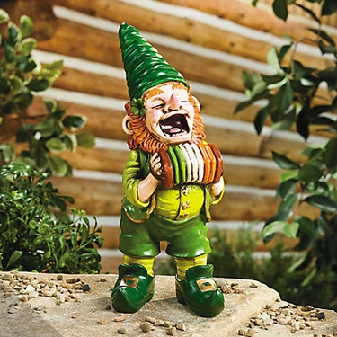 Lucky Leprechaun Gnome - Click to enlarge