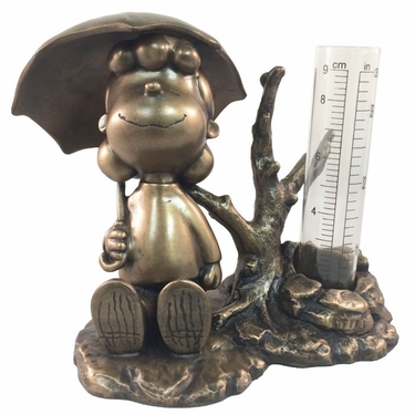 Lucy Rain Gauge - Antique Bronze - Click to enlarge