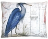 Majestic Heron Outdoor Pillow