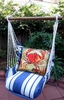 Marina Stripe Fresh Catch Crab Hammock Chair Swing Set