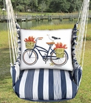 Marina Stripe Lobster Delivery Hammock Chair Swing Set