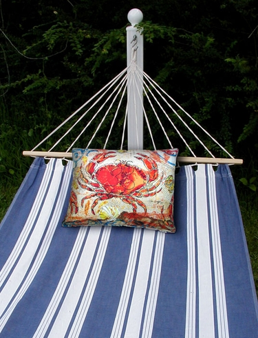 Marina Stripe Sundure Fabric Hammock - Click to enlarge