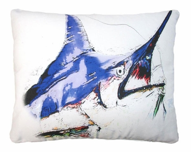 Marlin Outdoor Pillow - Click to enlarge