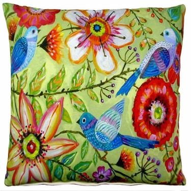 McKenzie's Garden 1 Outdoor Pillow - Click to enlarge