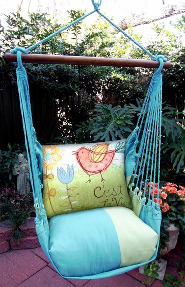 Meadow Mist C'est La Vie Hammock Chair Swing Set - Click to enlarge
