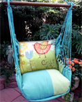 Meadow Mist C'est La Vie Hammock Chair Swing Set