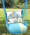 Meadow Mist Dolphin Hammock Chair Swing Set