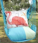 Meadow Mist Grand Flamingo Hammock Chair Swing Set