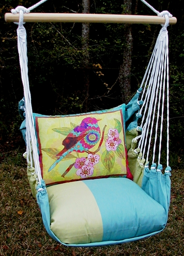 Meadow Mist Ladybird Hammock Chair Swing Set - Click to enlarge