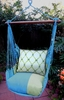 Meadow Mist Latice Hammock Chair Swing Set