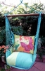 Meadow Mist Nature Butterflies Hammock Chair Swing Set