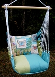 Meadow Mist Nature Walk Hammock Chair Swing Set