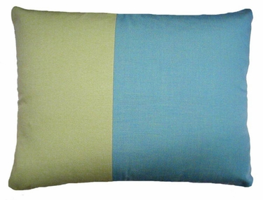 Meadow Mist Stripe Outdoor Pillow - Click to enlarge