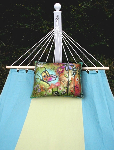 Meadow Mist Sundure Fabric Hammock - Click to enlarge