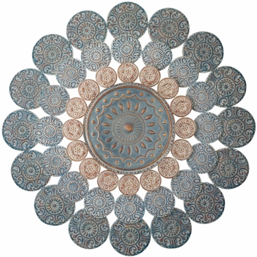 Medallion Wall Decor - Click to enlarge