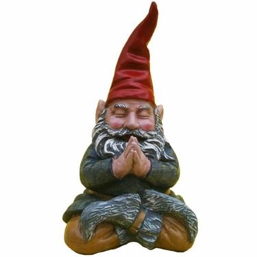 Meditating Gnome - Zen Mordecai - Click to enlarge