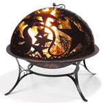 Medium Fire Pit w/ Orion FireDome